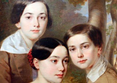 Négy évszázad gyerek portréi. Művek a 17. századtól a kortárs alkotásokig.