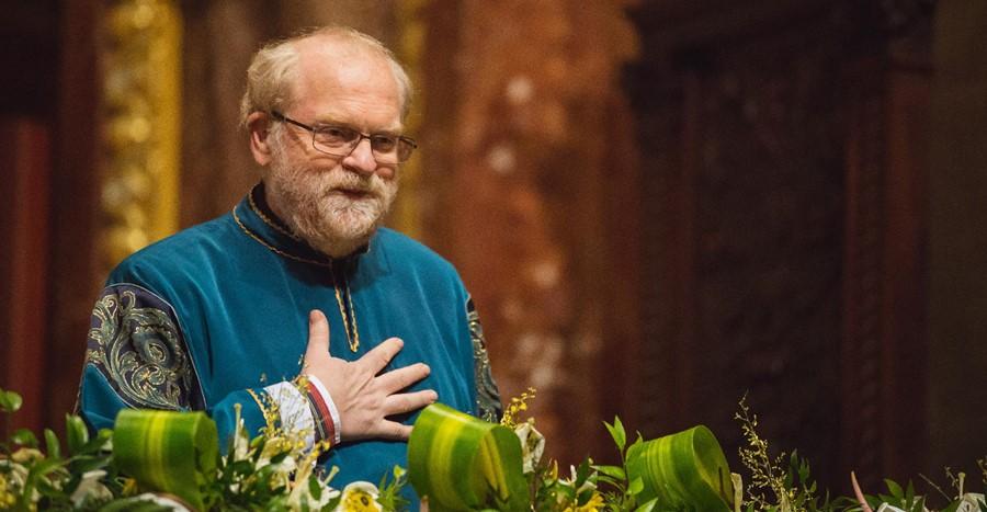 Bubnó Tamás, a Szent Efrém művészeti vezetője