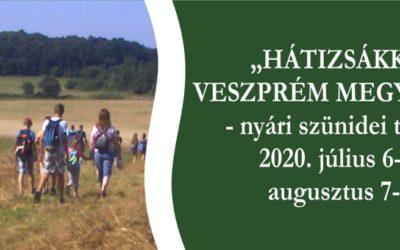 Hátizsákkal Veszprém megyében
